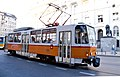 Tram in Sofia near Palace of Justice 2012 PD 040.jpg