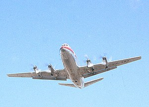 Vickers Viscount - Trans-Canada Airlines Viscount making a low pass sometime in the 1960s