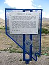 Truckee River (East), Nevada Historical Marker No. 63, Near Sparks, Nevada (18083886531).jpg