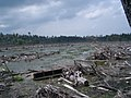 Tsunami 2004 aftermath. Aceh, Indonesia, 2005. Photo- AusAID (10730570416).jpg