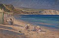 Tudor St George Tucker - Our tent at Swanage, Dorsetshire, 1903.jpg