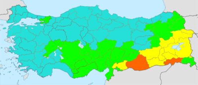Turkey total fertility rate by province 2015.png