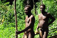 Zwei Yaohnanen-Stammesangehörige