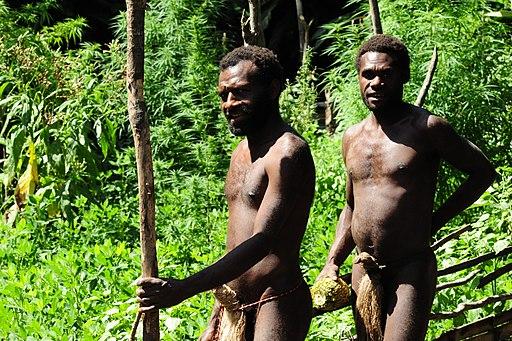 Two Yaohnanen Tribesmen