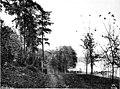 Two women walking in Woodland Park near Green Lake, ca 1897-1903 (SEATTLE 885).jpg