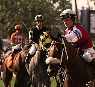 Tyler Baze - Baze and other Jockeys in 2014