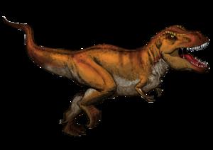 Reconstitution artistique d'un tyrannosaure