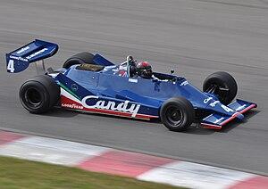 Tyrrell 009 - Image: Tyrrell 009 Mont Tremblant Esses