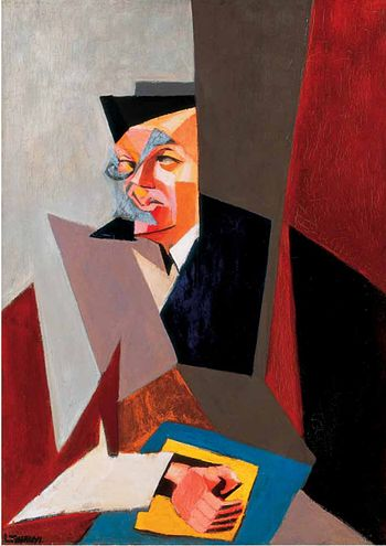 Portrait of Tristan Tzara