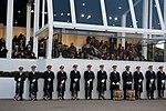 U.S. Army Band awaits President Obama's arrival 130121-Z-QU230-175.jpg