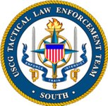 U.S. DEPARTMENT OF HOMELAND SECURITY, COAST GUARD, TACTICAL LAW ENFORCEMENT LOGO