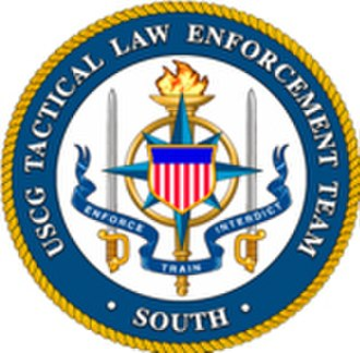Law Enforcement Detachments - U.S. Department of Homeland Security, Coast Guard, Tactical Law Enforcement logo