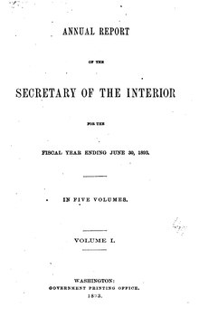 U.S. Department of the Interior Annual Report 1893.djvu