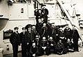 U.S. Navy protected cruiser, USS Atlanta, showing the forecastle crew, 1890 - 1910 (24646606743).jpg