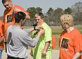 U.S. Special Olympic athletes are the recipient of awards presented, during the Special Olympics, on Fort Gordon, Ga., Mar 100324-A-NF756-012.jpg
