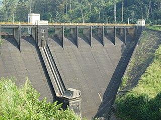 Castlereigh Dam Dam in Hatton, Central Province