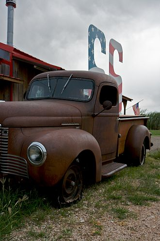 Adrian, Texas - Image: US66 abandoned truck