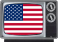 USA flag on television.png