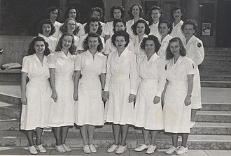 USC Division of Biokinesiology and Physical Therapy - The first graduating class of the Department of Physical Therapy at USC, 1946.