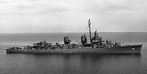 USS David W. Taylor (DD-551) - Image: USS David W. Taylor (DD 551) in Mobile Bay in September 1943