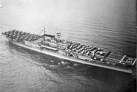 USS Enterprise im April 1939