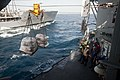 USS Hue City conducts a replenishment-at-sea. (8718540218).jpg