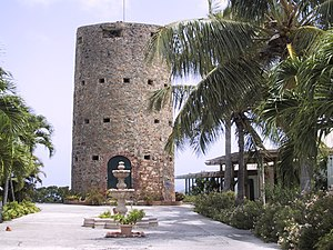 Saint Thomas, U.S. Virgin Islands - Image: USVI St. Thomas Charlotte Amalie Blackbeard Castle