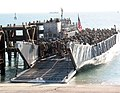 US Navy 030217-N-1050K-011 More than 1,000 U.S. Marines arrive ashore via Landing Craft Utility (LCU) vehicles in a port facility in Kuwait.jpg
