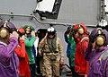 US Navy 040417-N-1082Z-004 Chief of Naval Operations, Adm. Vern Clark, salutes sideboys.jpg