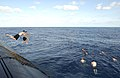 US Navy 040815-N-6811L-081 The crew of the submarine USS Portsmouth (SSN 707) enjoy the waters of the Pacific Ocean during a swim call.jpg