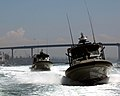 US Navy 060823-N-5148B-009 Sailors assigned Inshore Boat Unit Five Two (IBU-52) train in boat maneuvers while participating in Exercise Seahawk 2006.jpg