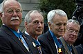 US Navy 071023-N-5319A-004 Former Medal of Honor awardees attend the Medal of Honor Flag ceremony recognizing the actions of Navy SEAL Lt. Michael Murphy held at the United States Navy Memorial.jpg