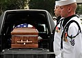 US Navy 090813-N-1522S-005 Members of a Navy honor guard carry the remains of Capt. Michael Scott Speicher to All Saints Chapel at Naval Air Station Jacksonville in Jacksonville, Fla.jpg