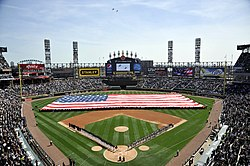 List Of Baseball Parks In Chicago Wikipedia - Us cellula r field inside map