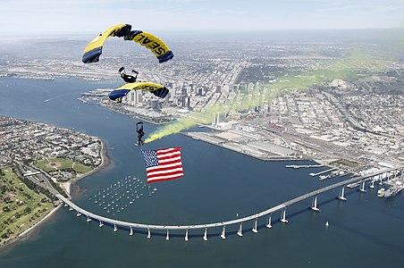 U.S. Navy Parachute