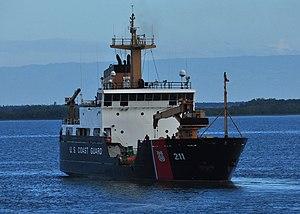 USCGC Oak (WLB-211) - USCGC Oak sailing through Cuban waters in October 2011.