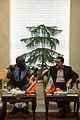 Ugandan Ambassador to Iran Mohammad Ahmad Kissule met mayor of Mashhad Mohammad Pezhman 5.jpg