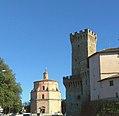Umbertide - La Rocca e la Chiesa di Santa Maria della Reggia.jpg