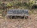 Un banc près du cimetière de Jujurieux (Ain, France).jpg