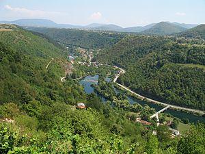 Bosnia (region) - Image: Una Kostela
