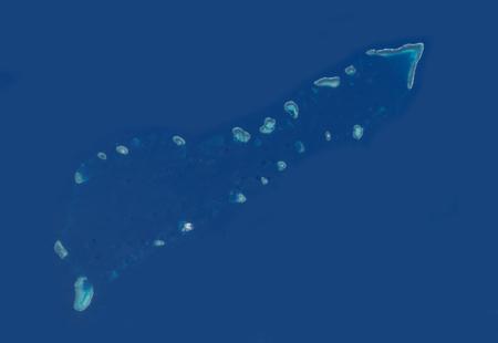 Ảnh vệ tinh chụp cụm Sinh Tồn (nguồn: NASA)
