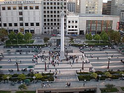 Union Square, SF from Macy's 1.JPG