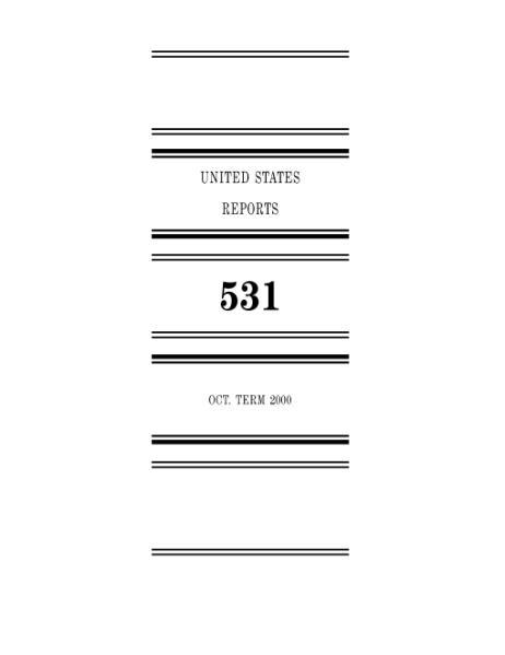 File:United States Reports, Volume 531.djvu