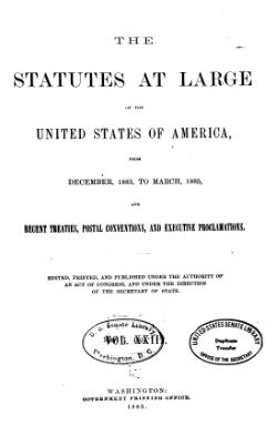United States Statutes at Large Volume 23.djvu