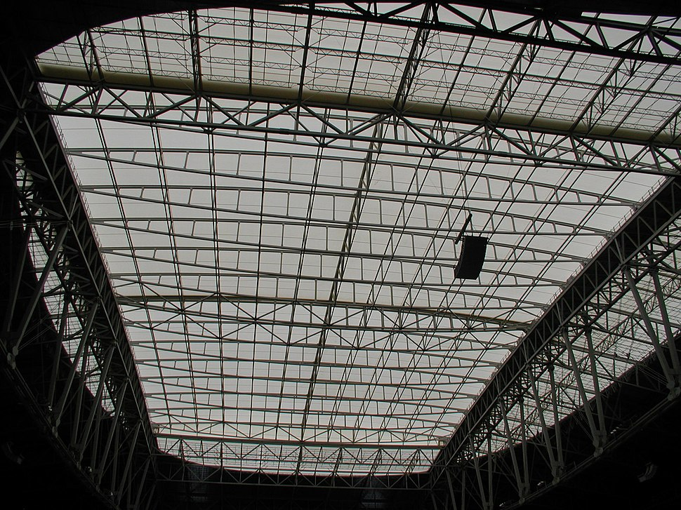 University of Phoenix Stadium roof