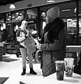 Unknown beauty, Burger King, Candid (23249026054).jpg