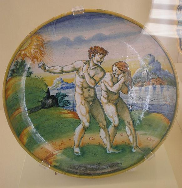 File:Urbino Adam and Eve plate CPLH 1947.6.JPG