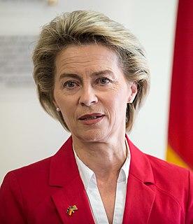 Ursula von der Leyen German politician (CDU), Minister of Defence