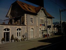 Uznach Train station