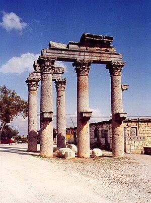 Olba (ancient city) - Image: Uzuncaburc Tor